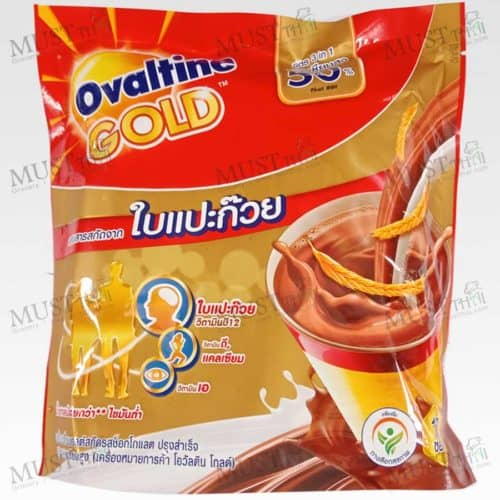 Ovaltine Gold 3in1 Beverage Malt Chocolate with Ginkgo