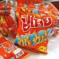 PooThai Squid Flavoured Snacks 14 g pack of 12