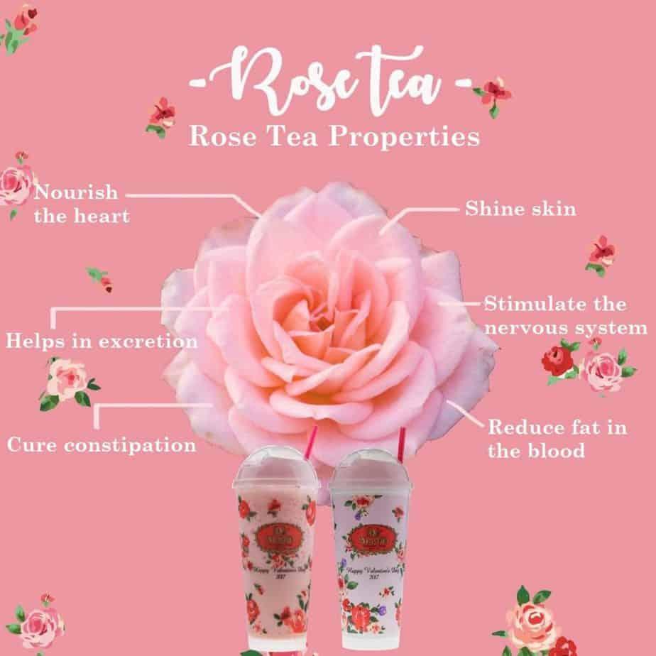 ChaTraMue Organic Rose Tea Mix 30 Tea Bags