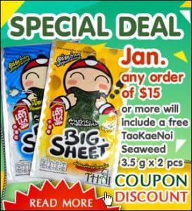 Thai grocery deal