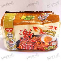 Nissin Instant Noodles Hot Chili Chicken Salted Egg Flavour 60g