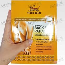 Tiger Balm Back Pain Patch one pack size of 2 plasters (10cm x 14cm)