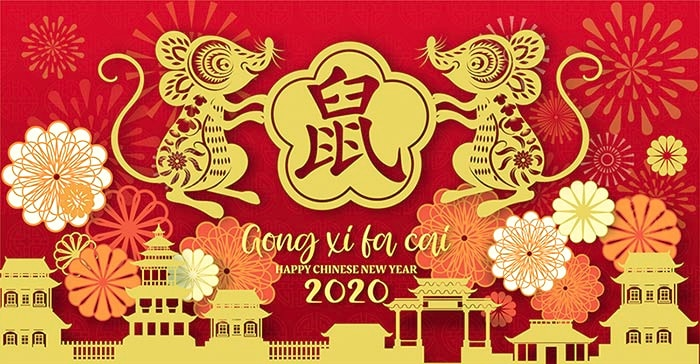 Thai grocery online Gift Gift for Chinese New Year 2020