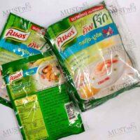 Knorr Big Cup Jok Shrimp-Crab Stick Flavoured Instant Porridge 55g (pack of 4)