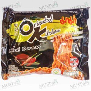 MAMA Dried Instant Noodles Oriental Kitchen Hot Korean Flavour 85 g
