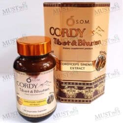 S.O.M Cordy Dietary supplement blend from Tibet and Bhutan