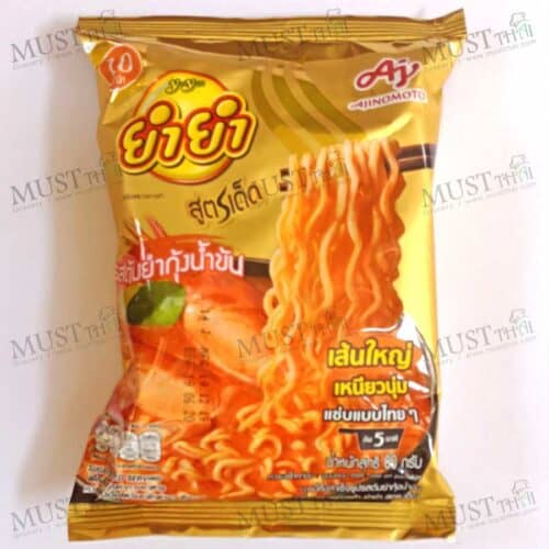 Yum Yum Sood-Ded Instant Noodles Creamy Tom Yum Kung Flavor 80g