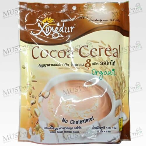 Xongdur Cocoa Cereal Instant 8 Whole Grain Beverage 150g