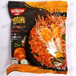 NISSIN Thai Signature Dried Instant Noodles Tom Yum Shrimp Paste Creamy Sauce