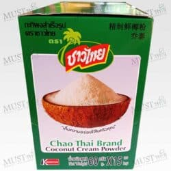 Chao Thai Coconut Cream Powder 60g box of 15