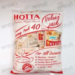 Hotta Ginger Instant no sugar 7g save pack 40 sachets