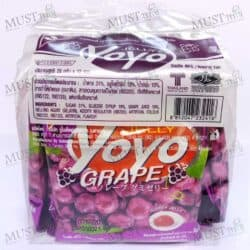 Yoyo Gummy with 10% Grape Juice 20g pack of 12