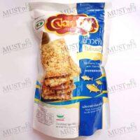 Little Farm Jornguan Riceberry Cracker with Fish Floss 100g