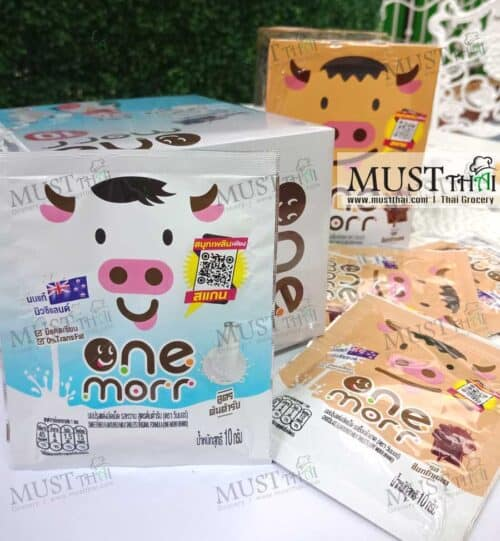 One Morr Chocolate flavoured Milk Tablets 10g box of 12