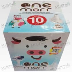 One Morr Sweetened flavoured Milk Tablets Original Formula 10g box of 12