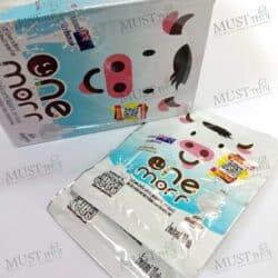 One Morr Sweetened flavoured Milk Tablets Original Formula 10g box of 12