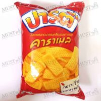 Party Fried Sweet Potato Chips Coated with Butter Caramel 60g