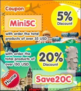 Thai grocery special Coupon discount.
