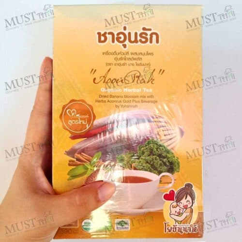 Herbal drink Banana Blossom mix herb for boost mother's milk
