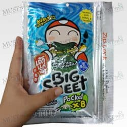 TaoKeaNoi Big Sheet x8 Crispy Fried Seaweed Sea food Flavor (28g)