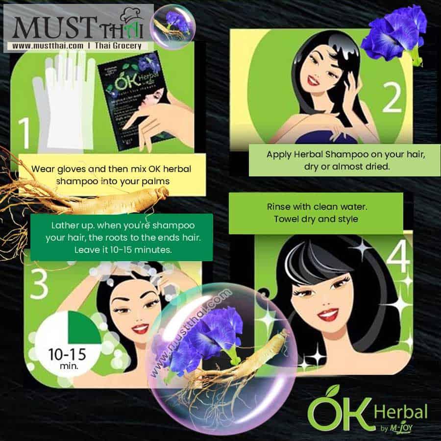 M-Joy OK Herbal Color Care Shampoo