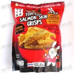 TENTEN Tom Yum Flavored Salmon Skin Crisps 40g