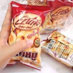 Entree Original Flavour Crispy Pork Rinds 7g pack of 12