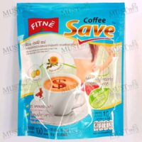 FITNE' Coffee Save Instant Coffee Mix with Safflower and Garcinia Extract