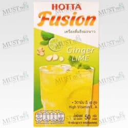Hotta Fusion Instant Ginger Lime Flavor 15g.x 5 Sachets