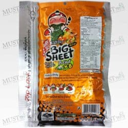 Taokaenoi Tom Yum Goong Flavour Crispy Seaweed Big Sheet 28g