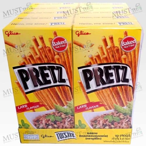 Pretz Bread Stick Larb Flavour pack of 10 box