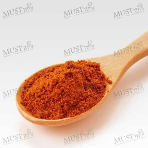 Ground Chili hot pungent taste
