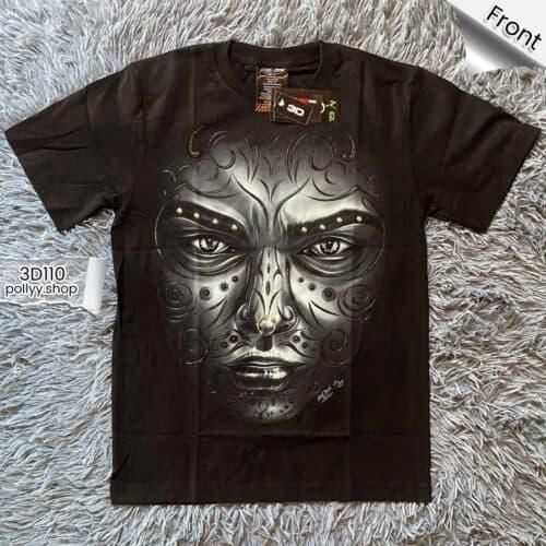 "ROCK CHANG, premium-grade T-shirt ""3D"" products."