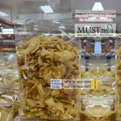 Mae Lamom Monthong Durian Chips 500g