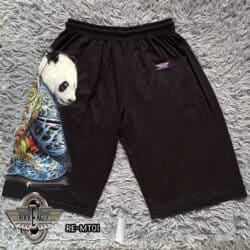 "Shorts Men Casual Style ""Panda Samurai"" - Rock Eagle"