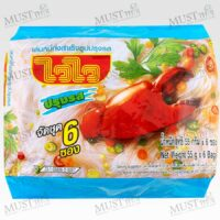 Wai Wai Instant Rice Vermicelli 55g pack of 6